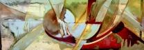 Vetrata realizzata per il Santuario delle lacrime, disegno del Maestro Albano Poli, PROGETTO ARTE POLI