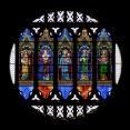 Rosone restaurato e integrato da Progetto Arte Poli, del Santo di Padova, il Duomo di Sant'Antonio