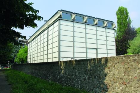 baranzate chiesa di vetro esterno 2