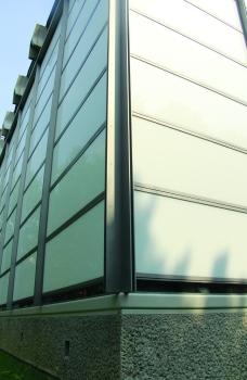 baranzate chiesa di vetro esterno 1