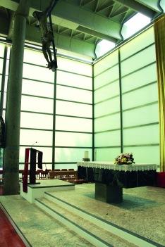 baranzate chiesa di vetro dopo il restauro 3